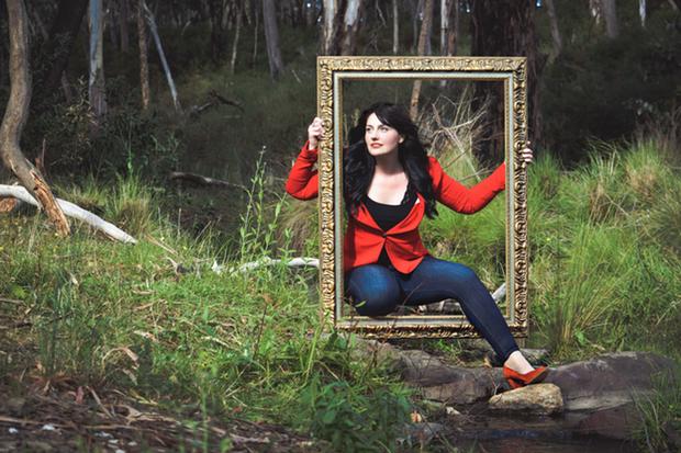 Alone Outside - Promo Image featuring Sharon Davis